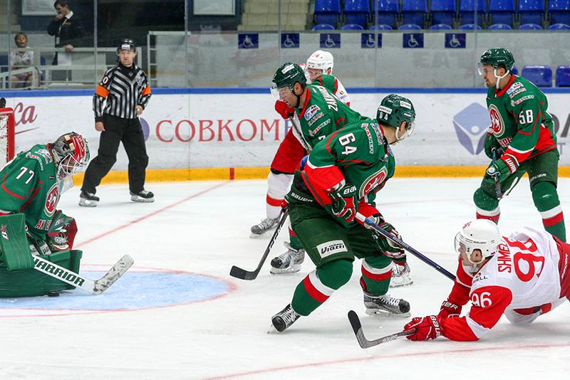 «Спартак» проиграл в овертайме «Ак Барсу» на Кубке губернатора (Видео)