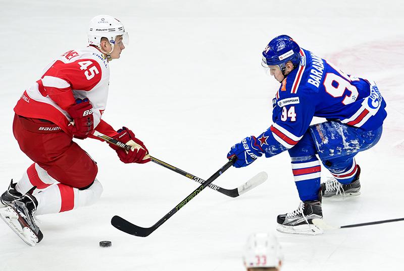«Спартак» одержал волевую победу над СКА в Санкт-Петербурге (Видео)