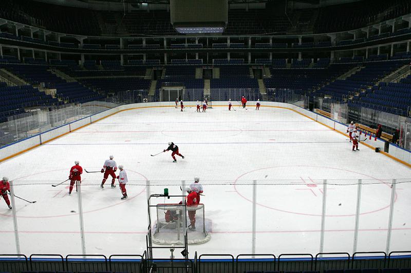 «Спартак» возобновил тренировки в «Парке Легенд»