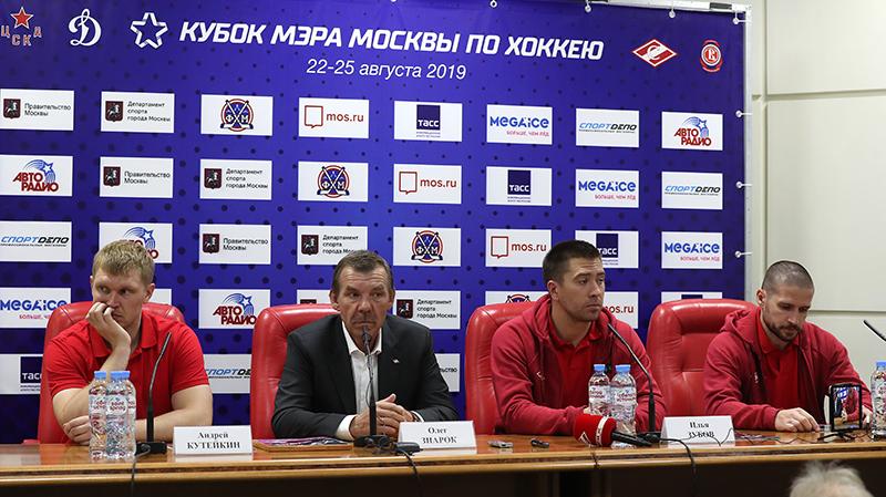 Андрей Кутейкин, Олег Знарок, Илья Зубов и Яков Рылов